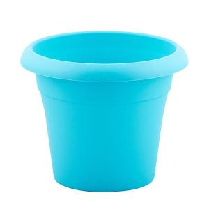 Plastic Flower Pot blue