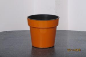 Pot in pot Orange Planter 16*15 CMS