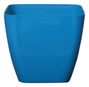 Plastic pot Blue 25*25 CM