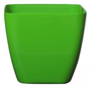 Plastic pot Green 25*25 CM