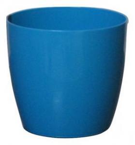 Plastic pot round Blue 16*15 CM