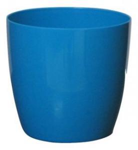 Plastic pot round Blue 20*19 CM