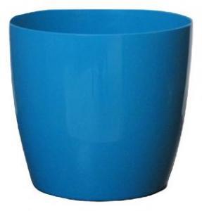 Plastic pot round Blue 25*23 CM