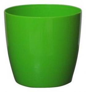 Plastic pot round Green 20*19 CM