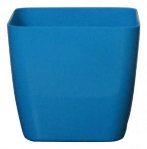 Plastic pot square Blue 20*20 CM