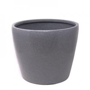 Decora Round pot GV 33 Grey